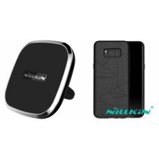 Kit auto încarcare wireless pentru Samsung Galaxy S8+ - Car Charger - Nillkin - 2 produse cu 30.91% discount
