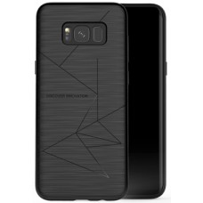 Husa magnetică din silicon mat anti amprentă - Magic Case for Samsung Galaxy S8, black - Nillkin