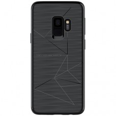 Husa magnetică din silicon mat anti amprentă - Magic Case for Samsung Galaxy S9+, black - Nillkin