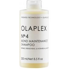Sampon pentru hidratare, reparare si fortifiere - Bond Maintenance Shampoo No.4 - Olaplex -  250 ml