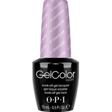 Lac-gel de unghii semipermanent - A Grape Fit! - Gel Color - OPI - 15 ml