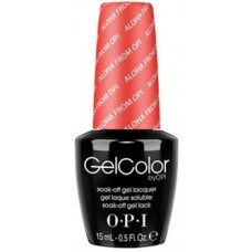 Lac-gel de unghii semipermanent - Aloha From Opi - Gel Color - OPI - 15 ml