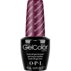Lac-gel de unghii semipermanent - Bastille Myheart - Gel Color - OPI - 15 ml