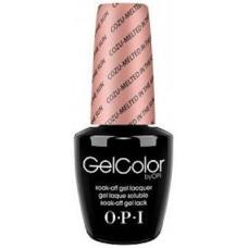 Lac-gel de unghii semipermanent - Cozu-Melted In The Sun - Gel Color - OPI - 15 ml