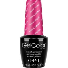 Lac-gel de unghii semipermanent - Pink Flamenco - Gel Color - OPI - 15 ml