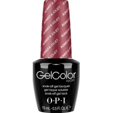 Lac-gel de unghii semipermanent - Romeo And Joliet - Gel Color - OPI - 15 ml
