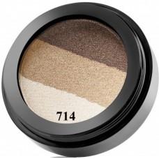 Fard de ochi trio cu pulbere de perle si efect metalic - 714 - Diamond Trio Eyeshadow - Paese - 5 gr