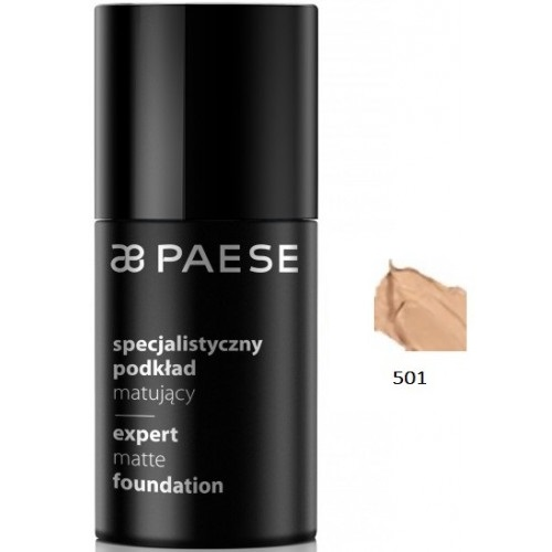 Fond De Ten Matifiant - Expert Matte Foundation - Paese - 30 Ml - Nr. 501