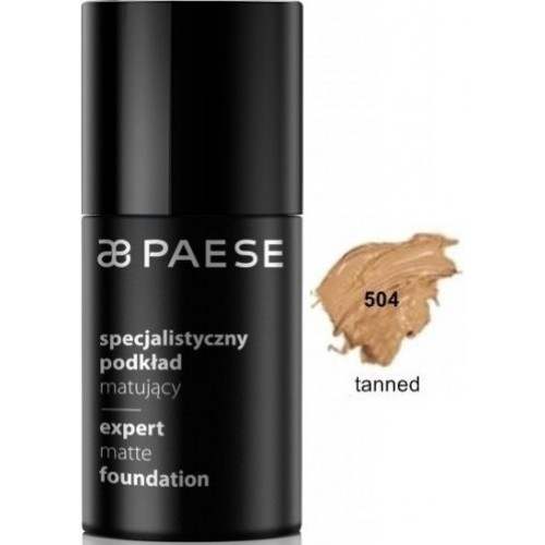 Fond De Ten Matifiant - Expert Matte Foundation - Paese - 30 Ml - Nr. 504