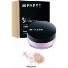Pudra pulbere pentru fixare (efect mat) - High Definition Loose Powder - Paese - 15 gr - Transparent