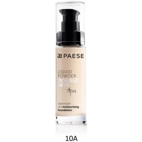 Fond De Ten Hidratant Cu Vitamine (ten Uscat) - Liquid Powder Double Skin Aqua - Paese - 30 Ml - Nr. 10a