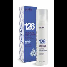 Crema Nutritiva - 126 HyalurOxy Rich Cream - HydraOxy Intense - Purles - 50 ml