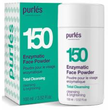 Peeling Facial - 150 Enzymatic Face Powder - Total Cleansing - 100 ml