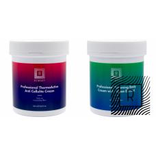 1 + 1 Set mic slabire si anti celulita - Remary - 2 produse cu 44.18% discount