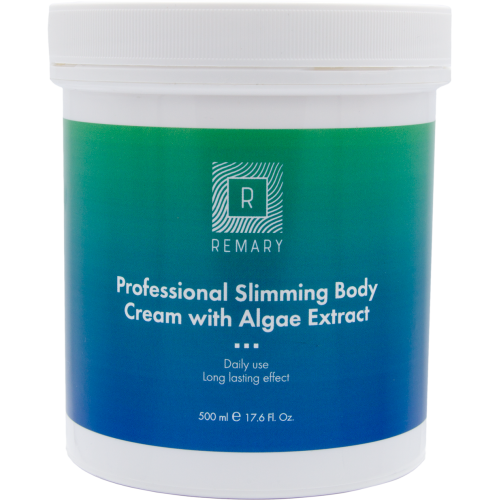 Crema Profesionala Pentru Slabit Cu Alge - Professional Slimming Body Cream With Algae Extract - Remary - 500 Ml
