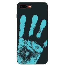 Carcasa termosensibila pentru Samsung Galaxy J7 (2017), Albastru inchis - Thermosensitive case for Samsung Galaxy J7 (2017), Dark-Blue
