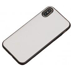 Carcasa subtire din piele lucrata manual pentru Samsung Galaxy S7, Alb - Thin-leather handmade case for Samsung Galaxy S7, White