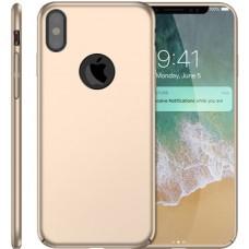 Husa ultra-subtire din fibra de carbon pentru iPhone X, Gold auriu - Ultra-thin carbon fiber case for iPhone X, Gold