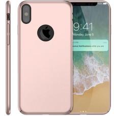 Husa ultra-subtire din fibra de carbon pentru iPhone X, Roze-gold - Ultra-thin carbon fiber case for iPhone X, Roze-Gold