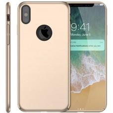 Husa ultra-subtire din fibra de carbon pentru iPhone XR, Gold auriu - Ultra-thin carbon fiber case for iPhone XR, Gold