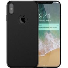 Husa ultra-subtire din fibra de carbon pentru iPhone XS, Negru - Ultra-thin carbon fiber case for iPhone XS, Black
