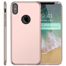 Husa ultra-subtire din fibra de carbon pentru iPhone XS, Roz gold - Ultra-thin carbon fiber case for iPhone XS, Roze-Gold