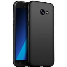 Husa ultra-subtire din fibra de carbon pentru Samsung Galaxy A3 (2017), Negru - Ultra-thin carbon fiber case for Samsung Galaxy A3 (2017), Black