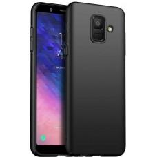 Husa ultra-subtire din fibra de carbon pentru Samsung Galaxy A6 Plus (2018), Negru - Ultra-thin carbon fiber case for Samsung Galaxy A6 Plus (2018), Black