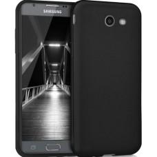 Husa ultra-subtire din fibra de carbon pentru Samsung Galaxy J3 (2017), Negru - Ultra-thin carbon fiber case for Samsung Galaxy J3 (2017), Black