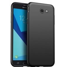 Husa ultra-subtire din fibra de carbon pentru Samsung Galaxy J7 (2017), Negru - Ultra-thin carbon fiber case for Samsung Galaxy J7 (2017), Black