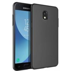 Husa ultra-subtire din fibra de carbon pentru Samsung Galaxy J7 PRO (2017), Negru - Ultra-thin carbon fiber case for Samsung Galaxy J7 Pro (2017), Black