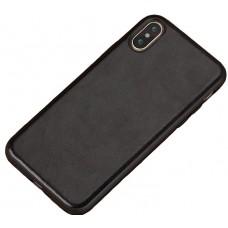 Carcasa subtire din piele lucrata manual pentru Iphone 6/6S Plus, Negru - Ultra-thin leather skin handmade case for iPhone 6/6S Plus, Black