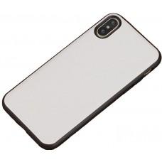 Carcasa subtire din piele lucrata manual pentru Iphone 6/6S Plus, Alb - Ultra-thin leather skin handmade case for iPhone 6/6S Plus, White