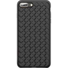 Husa Ultra-Subtire Model Weave pentru iPhone 7/8 Plus, Negru - Ultra-thin Weave model case for Iphone 7/8 Plus,  Black
