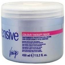 Masca intens protectiva pentru par vopsit sau suvite - Colour Therapy Mask - Intensive - Vitality's - 450 ml