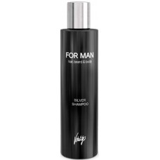Sampon colorant argintiu pentru barbati - Silver Shampoo - Vitality's - 240 ml