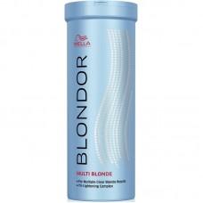 Pudra decoloranta par blond - Multi Blonde Powder - Blondor - Wella Professionals - 400 gr