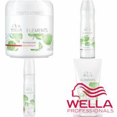Kit mic revitalizant pentru par fara sulfati, parabeni si coloranti - Care Elements - Wella Professionals - 4 produse cu 35% discount