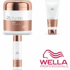 Kit mic reparator pentru par degradat - Care Fusion - Wella Professionals - 3 produse cu 35% discount
