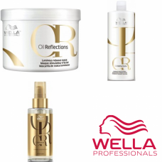 Kit mare pentru netezire si stralucire - Care Luminous - Wella Professionals - 3 produse cu 35% discount