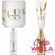 Kit mic pentru netezire si stralucire - Care Luminous - Wella Professionals - 4 produse cu 35% discount