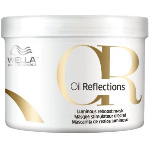 Masca-tratament Pentru Netezire Si Stralucire - Mask - Oil Reflections - Wella - 500 Ml