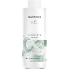 Balsam pentru descurcarea parului cret - Conditioner - Care Nutricurls - Wella Professionals - 1000 ml