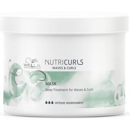 Tratament Pentru Par Cret - Curls&waves Treatment - Care Nutricurls - Wella Professionals - 500 Ml