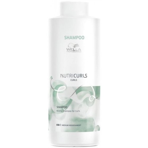 Sampon Pentru Bucle Lejere - Shampoo - Care Nutricurls - Wella Professionals - 1000 Ml