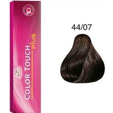 Vopsea semi permanenta profesionala - 44/07 - Color Touch Plus - Wella Professionals - 60 ml