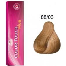 Vopsea semi permanenta profesionala - 88/03 - Color Touch Plus - Wella Professionals - 60 ml