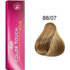 Vopsea semi permanenta profesionala - 88/07 - Color Touch Plus - Wella Professionals - 60 ml