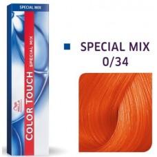Vopsea semi permanenta profesionala - 0/34 - Special Mix - Color Touch - Wella Professionals - 60 ml