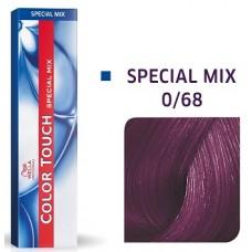 Vopsea semi permanenta profesionala - 0/68 - Special Mix - Color Touch - Wella Professionals - 60 ml